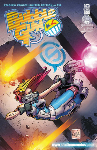 Bubblegun #1 Stadium Comics Exclusive Cover - June 2013