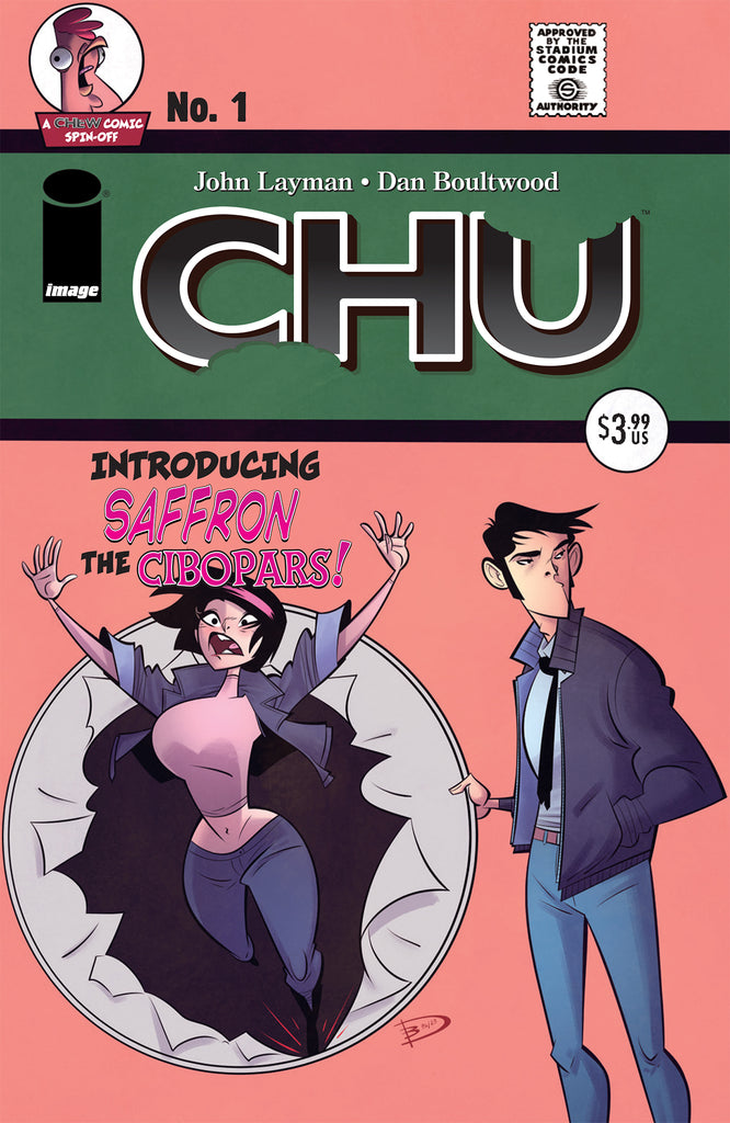 CHU #1 Homage Variant Cover