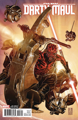 STAR WARS DARTH MAUL #1 1:50 MARK BROOKS VARIANT COVER Pre-order