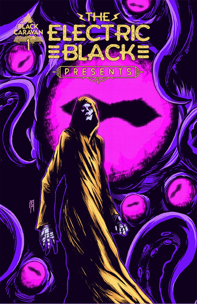 THE ELECTRIC BLACK PRESENTS #1 Collector's Pack Pre-order
