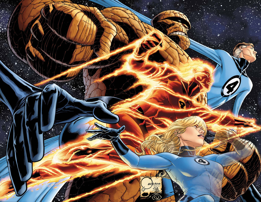FANTASTIC FOUR BY JOE QUESADA POSTER