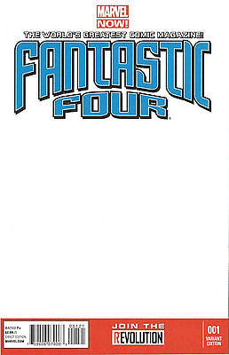 Fantastic Four #1 Blank Variant Cover