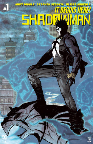 SHADOWMAN #1 Batman Homage Variant