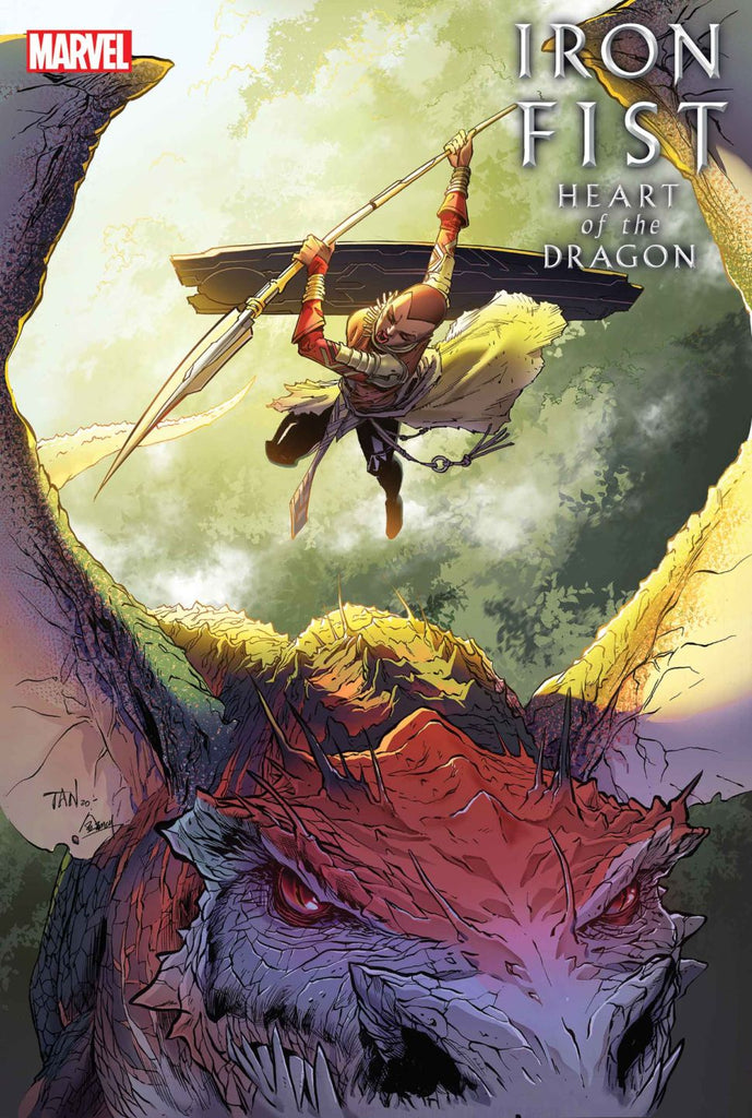 IRON FIST HEART OF THE DRAGON #3 PRE-ORDER