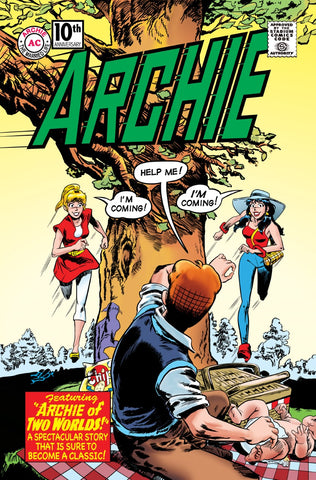 ARCHIE MARRIED LIFE 10 YEARS LATER #1 Homage Variant Cover