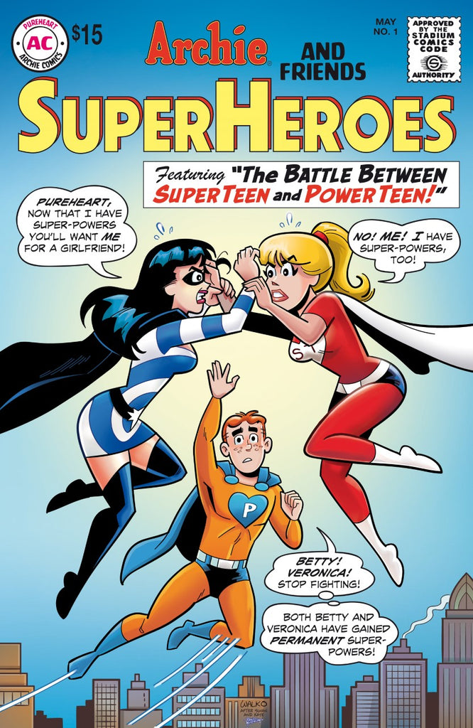 ARCHIE SUPERHEROES #1 POP ART & HOMAGE Variant Cover Pre-Order