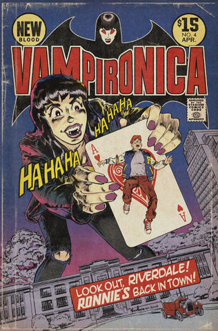 VAMPIRONICA NEW BLOOD #4 JOKER Homage Variant Cover