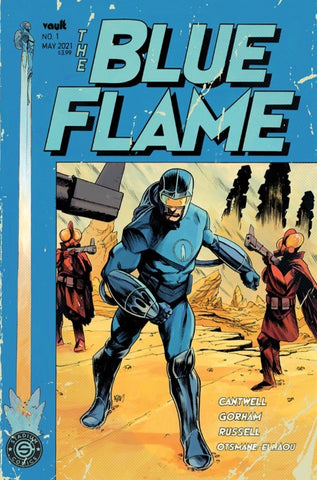 BLUE FLAME #1 PRE-ORDER