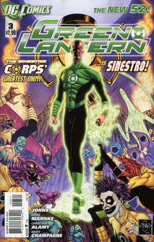 GREEN LANTERN #3 Variant Cover