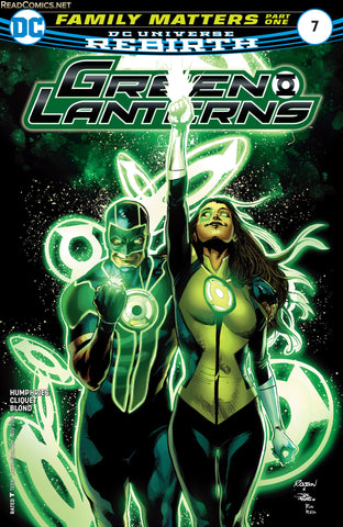 GREEN LANTERNS (REBIRTH) #7