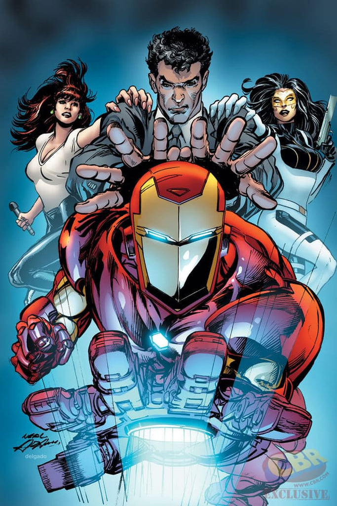 INVINCIBLE IRON MAN #6 NEAL ADAMS Variant