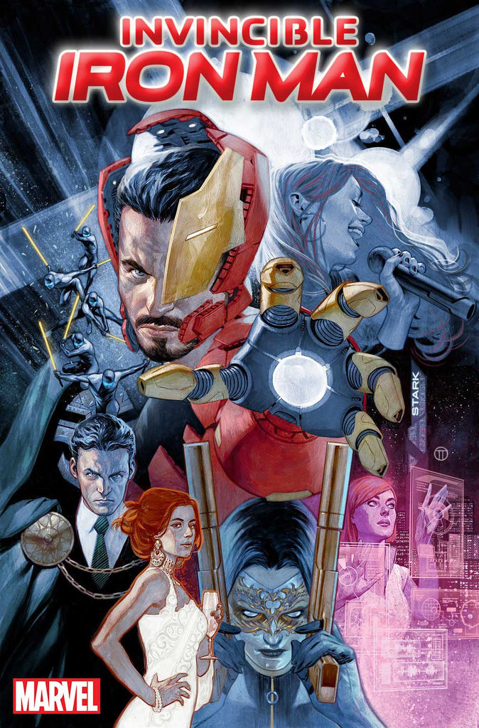 INVINCIBLE IRON MAN #6 TEDESCO STORY THUS FAR Variant