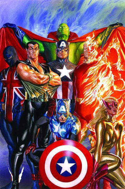 INVADERS BY ALEX ROSS POSTER