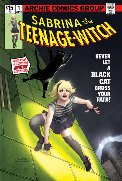 SABRINA SOMETHING WICKED #1 Spider-Man Homage Variant Cover Pre-Order