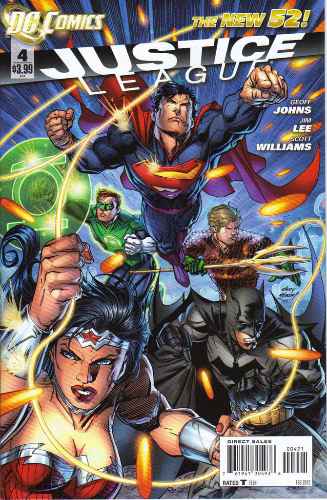 JUSTICE LEAGUE #4 Andy Kubert Variant