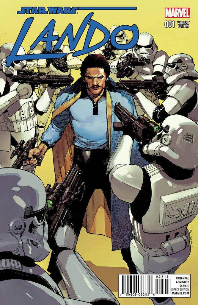 STAR WARS LANDO #1 (OF 5) YU VARIANT