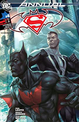 Superman Batman Annual #4 - By Artgerm - 1st Batman Beyond In DCU