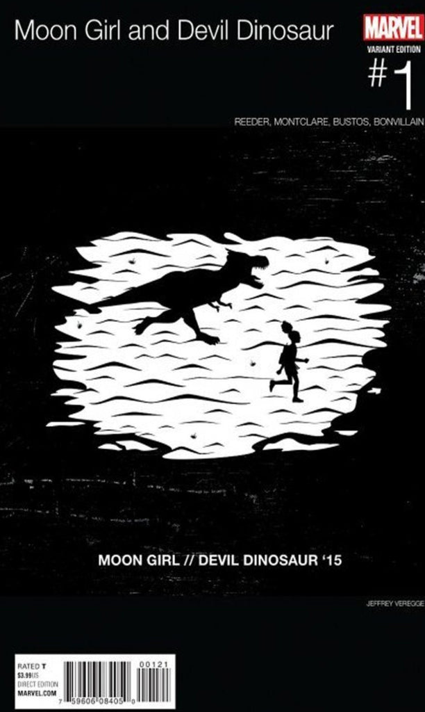 Moon Girl and Devil Dinosaur #1 - Hip Hop Variant - 1st Lunella Lafayette