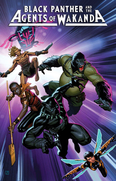 BLACK PANTHER AND THE AGENTS OF WAKANDA #1 Collector's Pack Pre-order