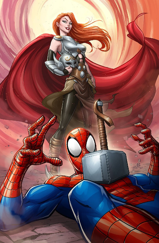 MIGHTY THOR #20 Mary Jane Variant Cover by Patrick Brown