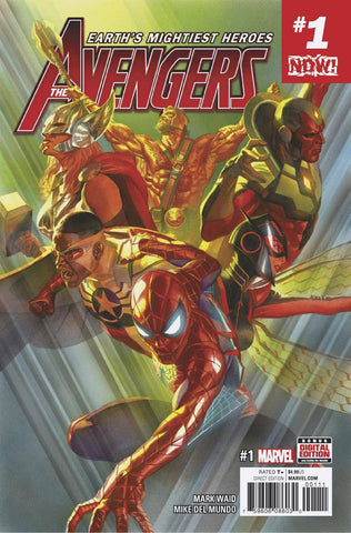 NOW AVENGERS #1 Collector's Pack Preorder