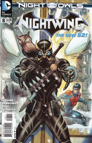 NIGHTWING (The New 52) #8