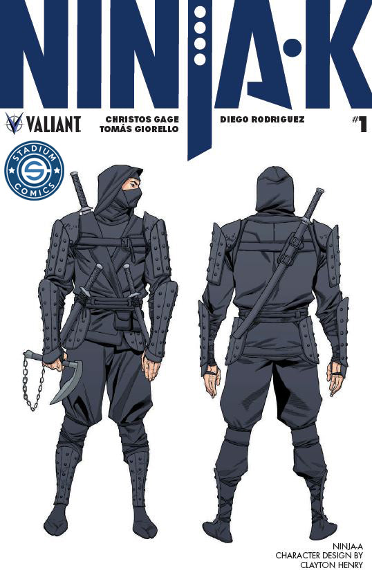 Ninja-K #1 EXCLUSIVE Ninja-A Variant Cover