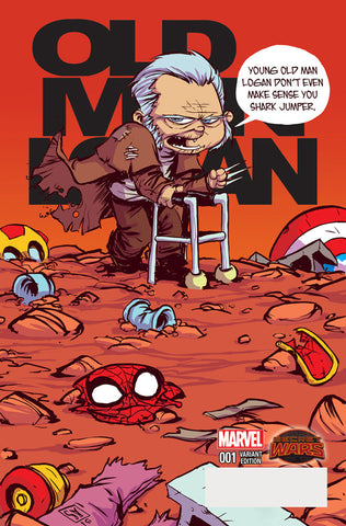 OLD MAN LOGAN #1 Skottie Young Variant