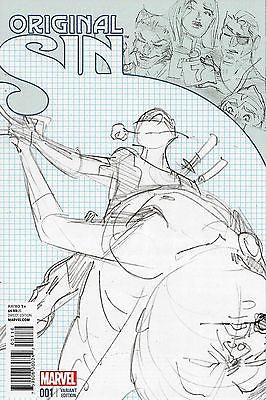 ORIGINAL SIN #1 DEADPOOL DANCING PARTY SKETCH VARIANT