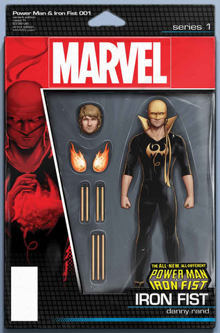 POWER MAN & IRON FIST #1 IF Action Figure Variant