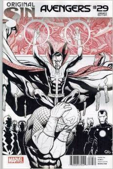 AVENGERS #29 CHO SKETCH VARIANT SIN