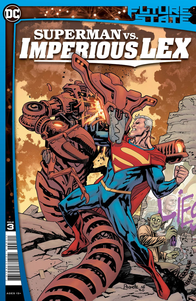 SUPERMAN VS. IMPERIOUS LEX #3 Collector's Pack Pre-order