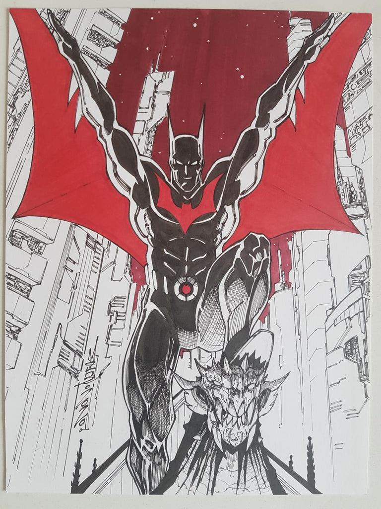 ALEX MILNE - SKETCH - BATMAN BEYOND