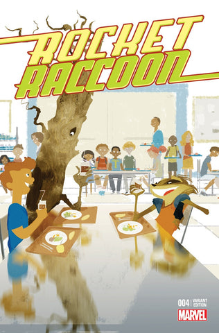 ROCKET RACCOON #4 CAMPION STOMP OUT BULLYING VARIANT