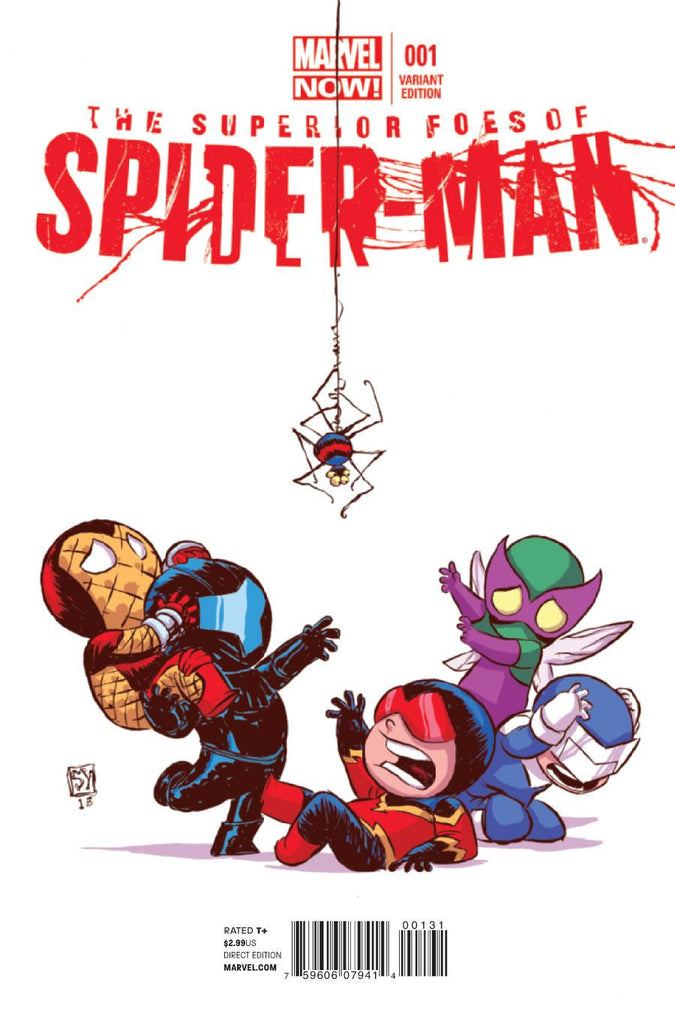 SUPERIOR FOES OF SPIDER-MAN #1 Skottie Young Variant