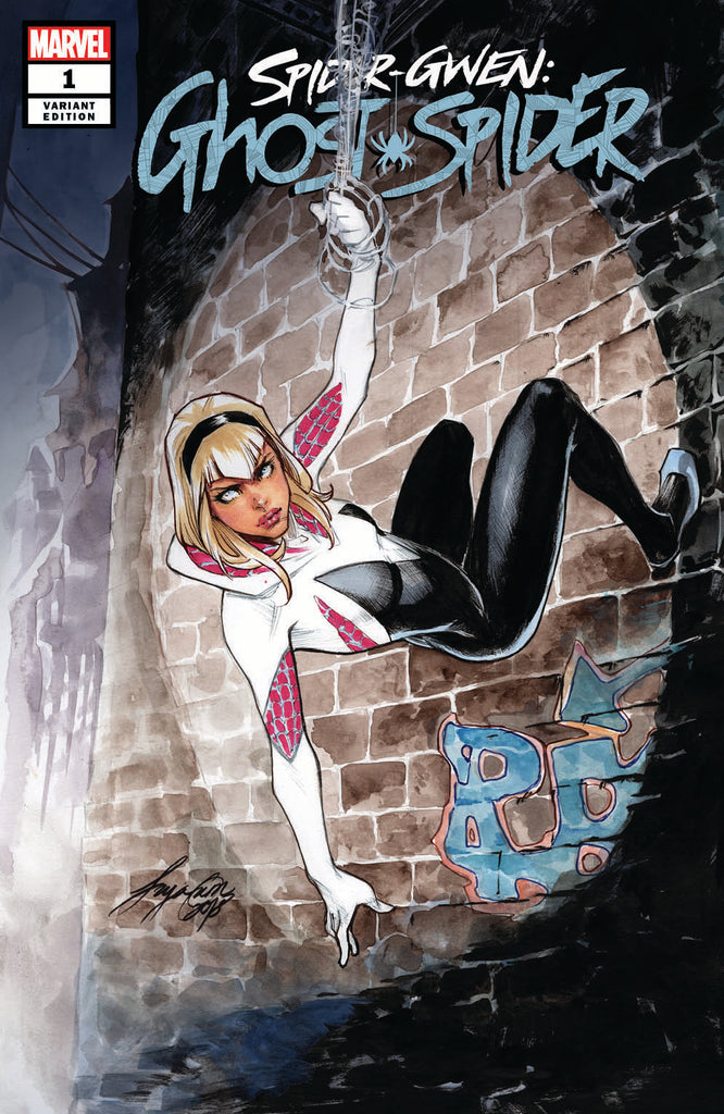 SPIDER-GWEN GHOST-SPIDER #1 SIYA OUM Exclusive Variant Cover