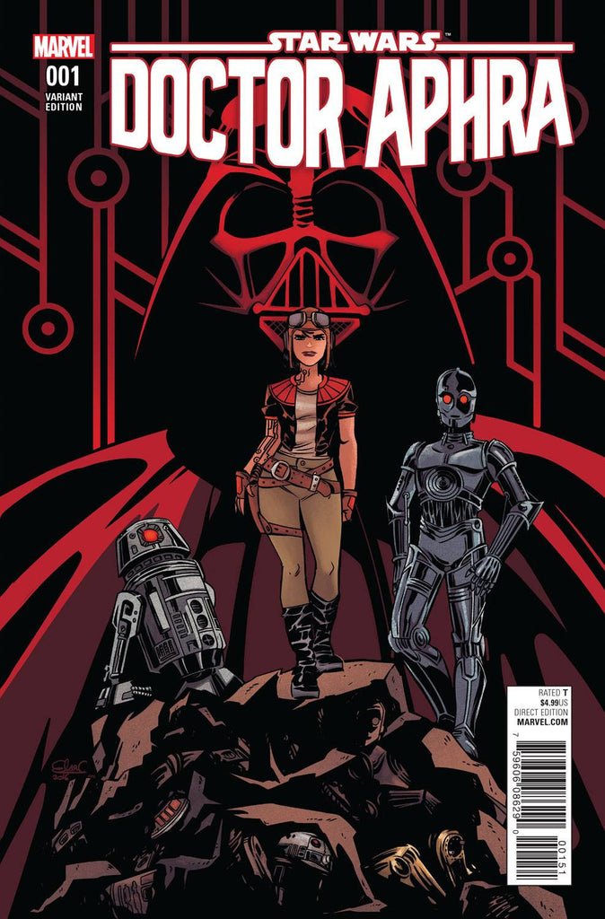 STAR WARS DOCTOR APHRA #1 1:50 CHARRETIER VARIANT COVER Pre-order