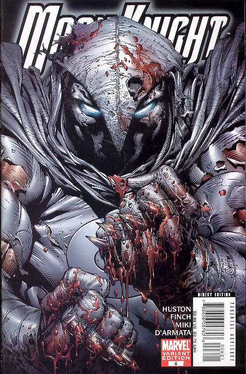 MOON KNIGHT #6 - 1:10 BLOODY VARIANT