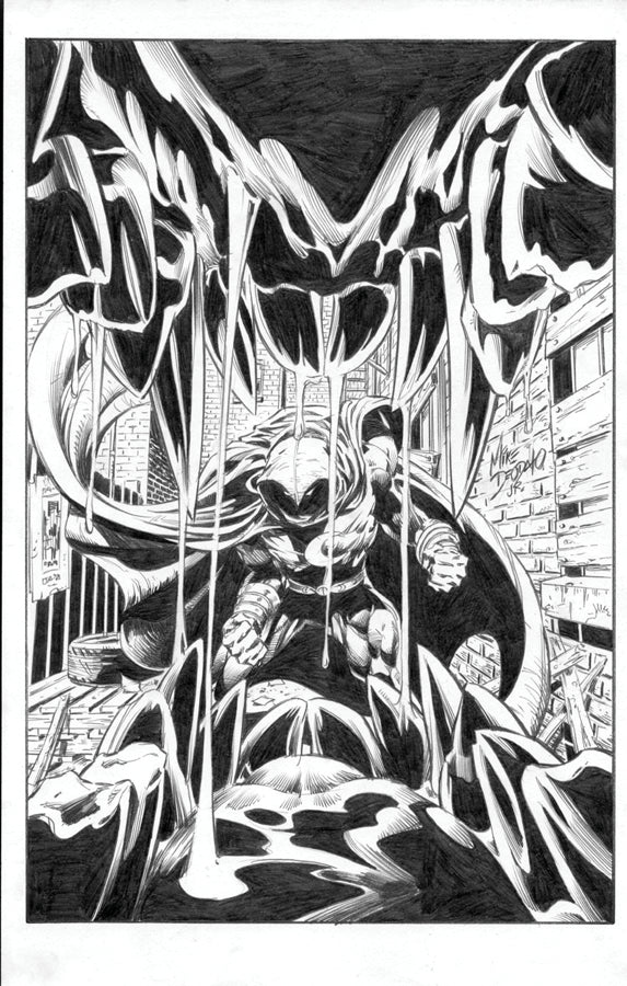 MOON KNIGHT #20 - 1:25 DEODATO SKETCH VAR