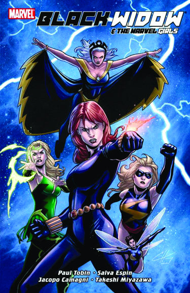 BLACK WIDOW AND MARVEL GIRLS GN TP