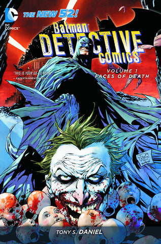 BATMAN DETECTIVE COMICS TP VOL 01 FACES OF DEATH