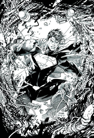 SUPERMAN UNCHAINED #1 - 1:300 JIM LEE SKETCH VARIANT
