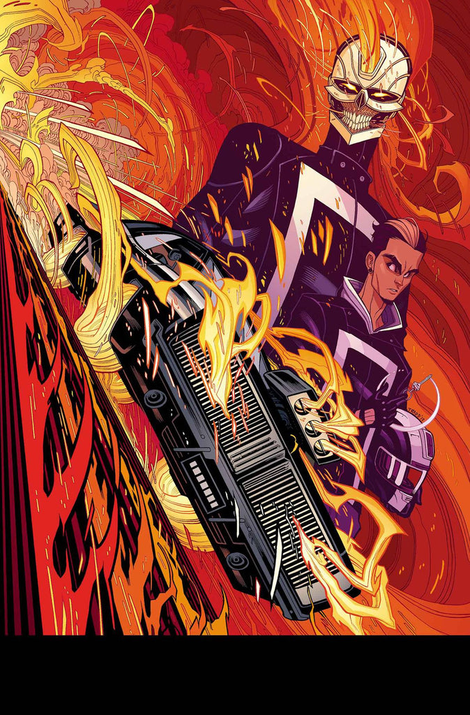 ALL NEW GHOST RIDER #1 MOORE POSTER