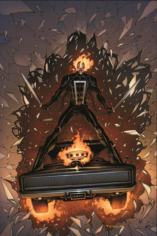 ALL NEW GHOST RIDER #3 VEHICLE TEXEIRA 1:15 VARIANT ANMN