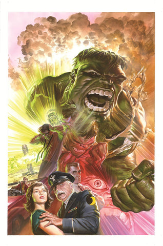 SAVAGE HULK BY ALEX ROSS POSTER