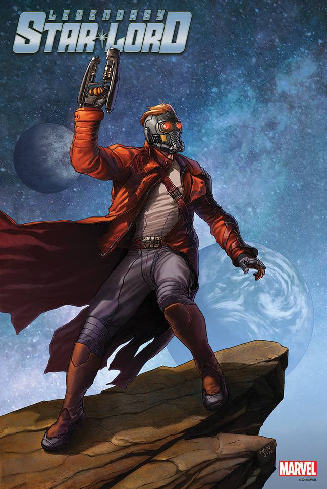 GUARDIANS OF GALAXY LEGENDARY STAR LORD 1 POSTER