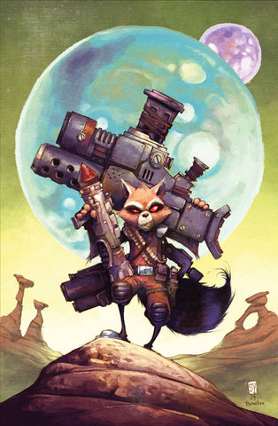 GUARDIANS OF GALAXY ROCKET RACCOON SKOTTIE YOUNG POSTER