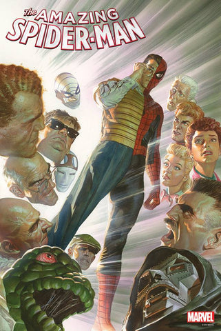 AMAZING SPIDER-MAN #1.5 BY ALEX ROSS POSTER