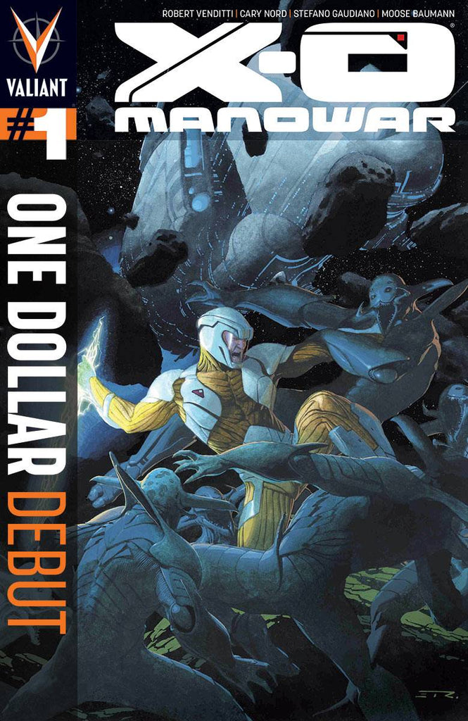 X-O MANOWAR #1 ONE DOLLAR DEBUT VARIANT