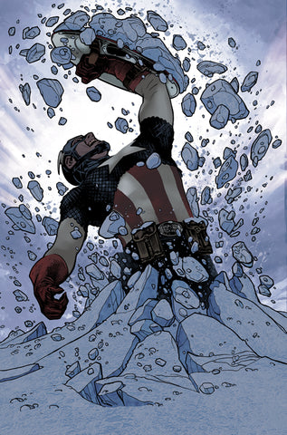 CAPTAIN AMERICA #25 - 1:50 HUGHES VAR - 1st Sam Wilson as Cap